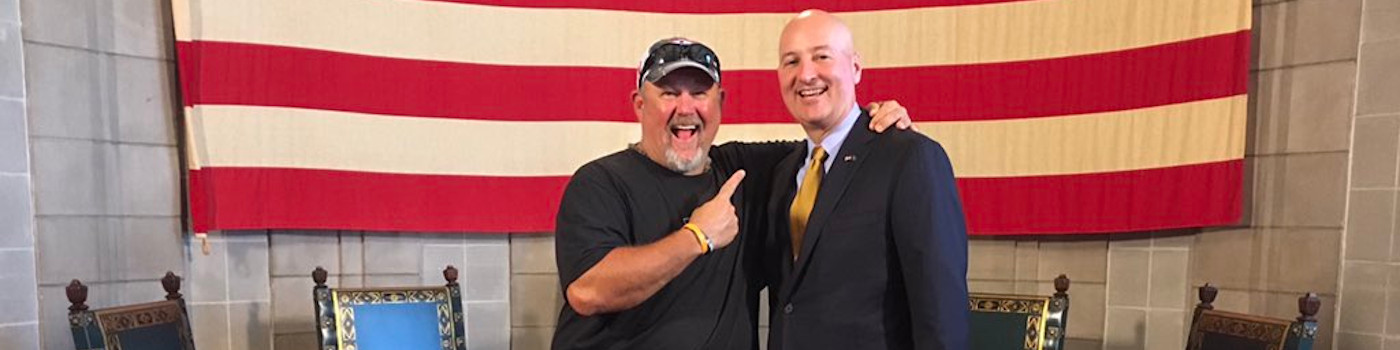 Governor Ricketts Hosts Larry the Cable Guy on The Nebraska Way Podcast