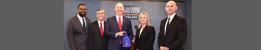 Gov. Ricketts Accepts Award Recognizing Nebraska's Work on Mental Health