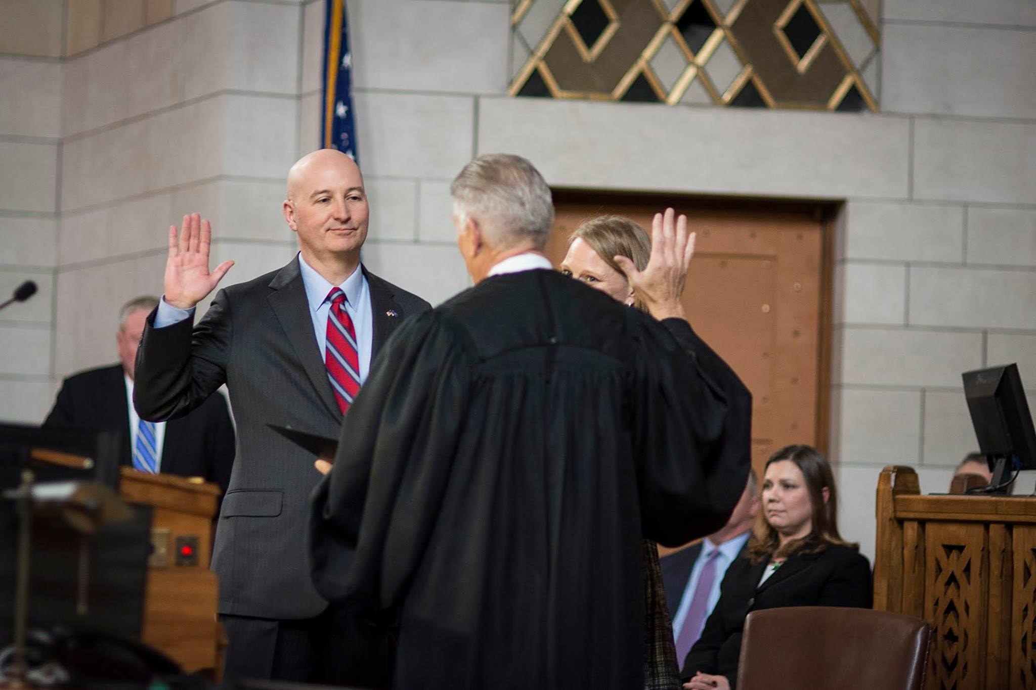 Governor Pete Ricketts Swearing In.