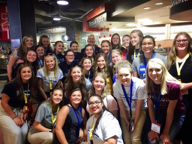 Governor Ricketts met with delegates of both Boys and Girls State at the University of Nebraska–Lincoln