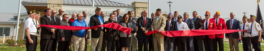 Gov. Ricketts Cuts Ribbon on State-of-the-Art Central Nebraska Veterans' Home
