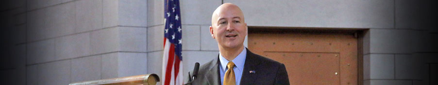 Governor Pete Ricketts Speaking at the 2017 State of the State address